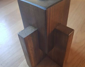 Wooden Candle / Tealight Holder