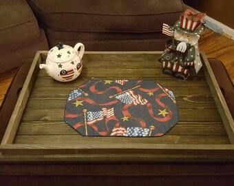 Wood Serving Tray, Wooden Tray, Rustic Tray, Tray With Handle, Wooden Serving Tray, Rustic Serving Tray, Coffee Tray, Breakfast Tray