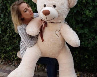 Large Giant Big Teddy Bear Soft Plush Toys 75+85cm