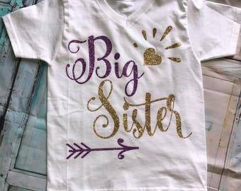 Big Sister or Big Brother Shirts