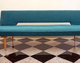 Mid century Sofa / Daybed by designer Miroslav Navratil. Era 1960s.