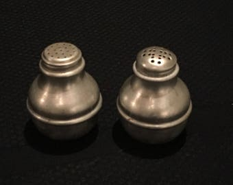 Antique salt and pepper shakers