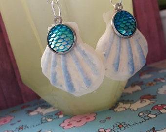 """Earrings """"Mermaid Seashell"""""""