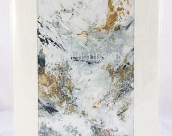 Original acrylic painting - 'SEASCAPE - 02'