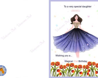 Happy Birthday Card, Funny Greeting Card, Funny Birthday Card, Gift for Her, , Card for Friend, Birthday Greeting, Funny Cards02