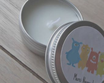 Coconut scented candle atmosphere has offer nanny 100% natural coconut scent