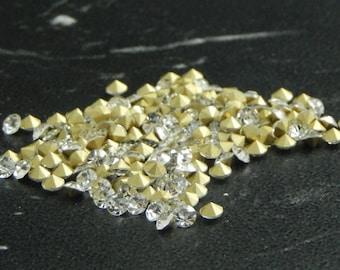 200 rhinestone diamond 2.5 mm diameter