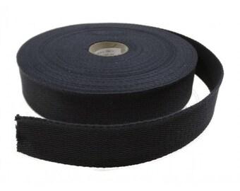 Strap Navy 30 mm 100% cotton