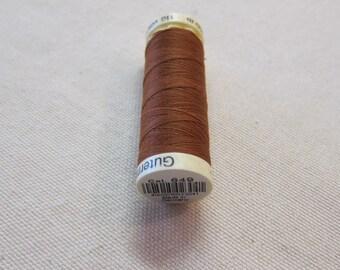 Sewing thread Brown n 649 Gütermann 100% polyester