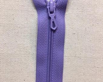12 cm Lavender not separable ZIPPER PRESTIL zipper closure