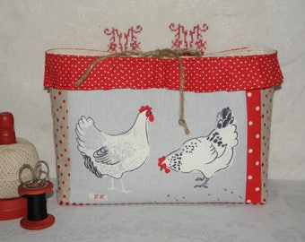 "Books or ""Hens"" ref.1535 storage pouch"