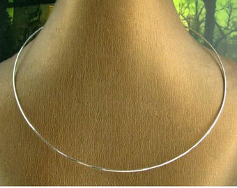 Chain Choker necklace in 925 sterling silver
