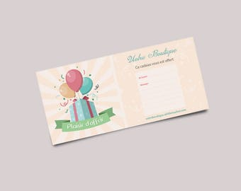 Gift message to join in your package card