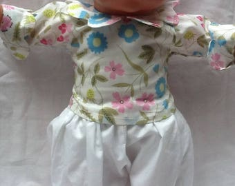 Liberty Mirabelle doll 36 cm petal collared blouse