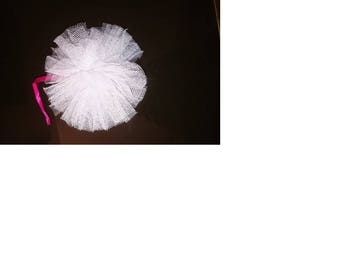 set of 20 tassels tulle for decoration