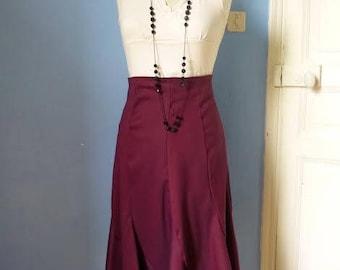 Skirt MIDI fuschia, size 40