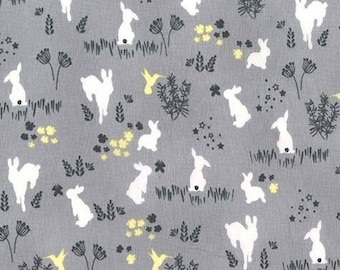 Cotton print designer Michael Miller / RABBITS / cut 30cm