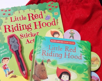 Little Red Riding Hood Book in a Bag