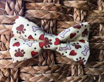 Bone Bow Tie
