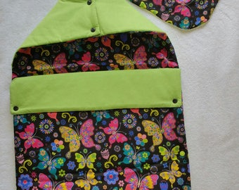 Bunting cotton green lime and multi color