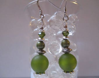 Green leaves of trees in summer as these pretty Stud Earrings