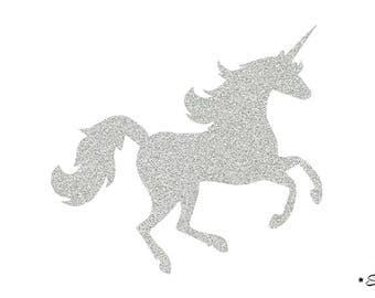 Thermo flex Unicorn design