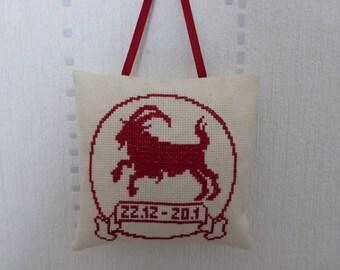 Pillow - Capricorn zodiac sign