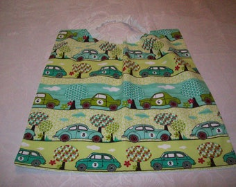 elastic cotton printed with cars; special canteen towel canteen and kindergarten