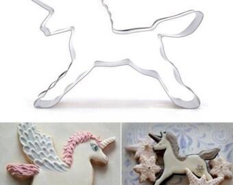 metal Unicorn cookie