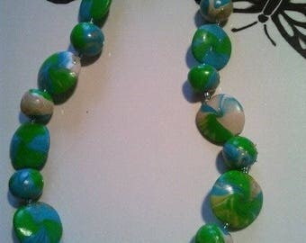 """land and sea"" necklace"