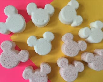 Mickey Mouse inspired bath bomb