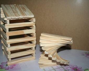 Natural sticks wooden games