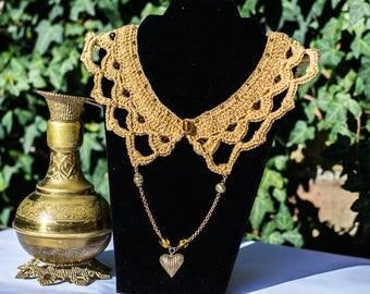 "Necklace collar ""Taj Mahal"": an incentive to travel"