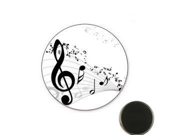 Magnet Note music - 25 mm Magnet