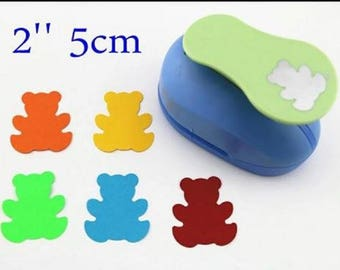 Hole punch bears 50 mm for scrapbooking
