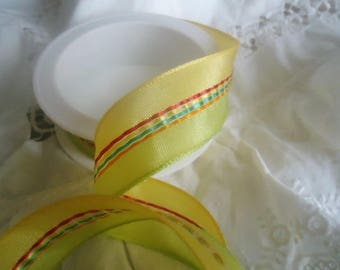 Wide ribbon festone for your creations... 0.50 cm X2.5 cm wide