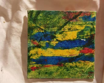 Small painting Yellow Brick Road