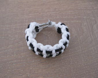 white round halyard bracelet nuts and bolts man