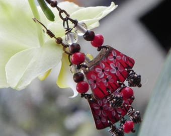 ethnic Earrings: for a geisha
