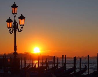 Venice Street Photography Print Photo