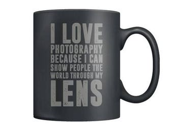 Photography Lovers 11oz Ceramic Coffee Mug