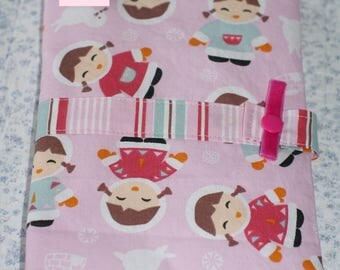 """health booklet protection cover quilted """"Eskimo"""""""