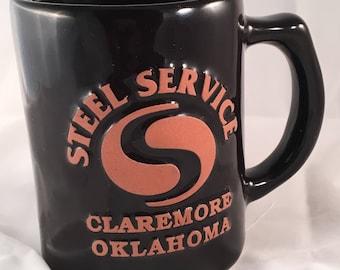 Vintage Frankoma Steel Service Mug