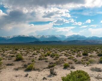 Desert Valley, Landscape Photography, Digital Download, Scenic View, Modern Art, Travel, Adventure, Explore, Fine Art Print