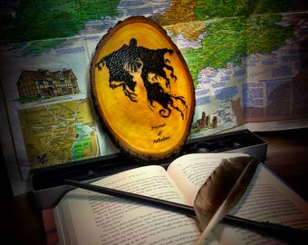 Harry Potter and the Prisoner of Azkaban Woodburning Art