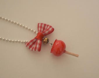 Yummy red necklace - Apple D'api