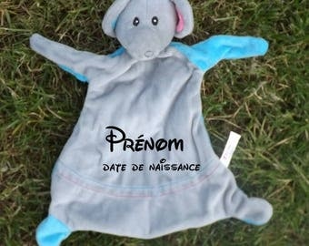 Cuddly elephant personalized with name