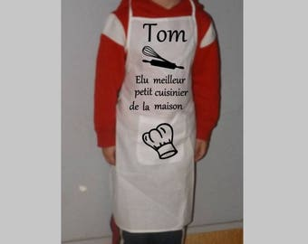 Elected apron with Pocket home cook