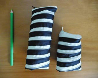 Pencil case and small bag