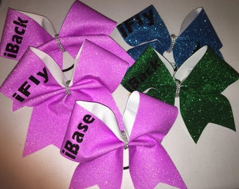 iFly, iBack, and iBase Cheer Bow